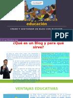 Los Blog y Su Uso en Educación