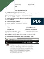 RTI CIC 12.03.17 Acb Letter 2investigate
