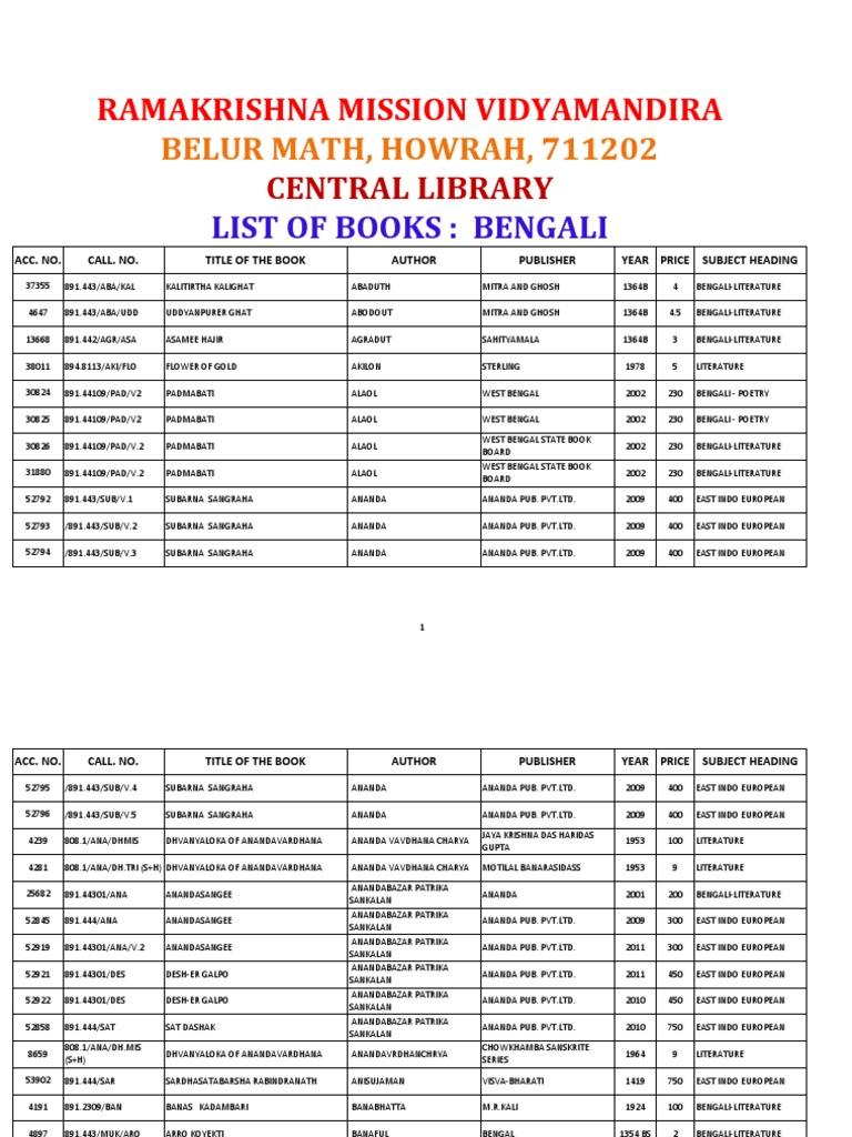 Beng  PDF  Asian Literature  Indian Literature