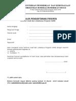 Seminar Lokakarya Program SAME 25-03-2015 Formulir