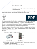 Capacitor Assignment