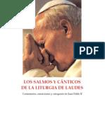 Catequesis de Juan Pablo II Sobre Los Salmos y Canticos de Laudes