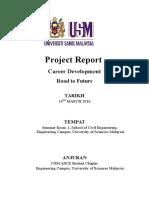 Laporan Kejayaan Career Development-Road to Future-1