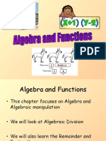 1) C2 Algebra and Functions