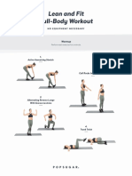 Lean and Fit Full-Body Workout