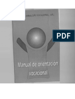 Manual de orientación Vocacioal