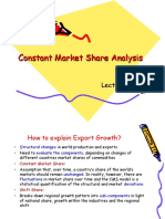 Constant Share Market Analysis
