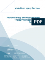 Clinical Practice Guidelines Burns Physiotherapy and Occupational Therapy