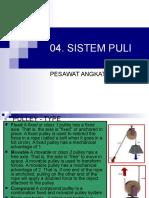 04. Sistem Puli