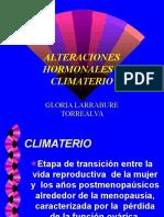 Alteraciones Hormonales y Climaterio