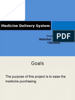 Medicine Delivery System