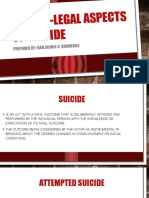 Medico-legal Aspects of Suicide
