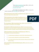 Constitution Amendments