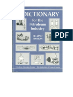 A Dictionary for the Petroleum Industry