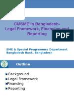 CMSME in Bangladesh-Legal Framework, Financing & Reporting-Final Revised