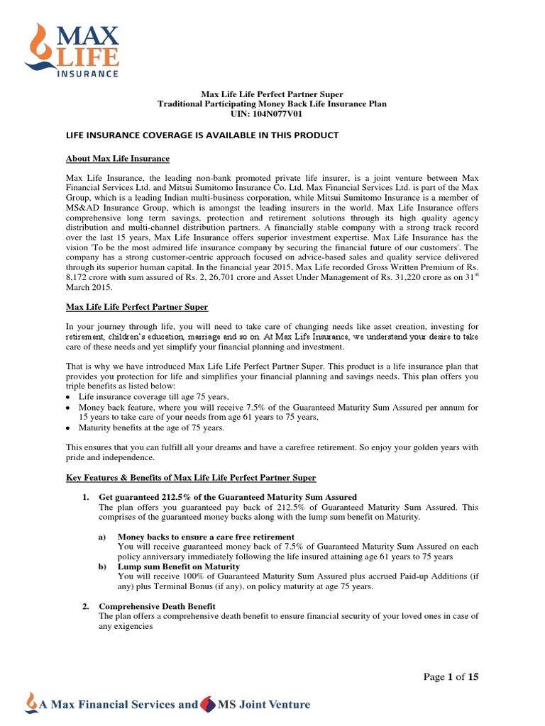 Customer Care Max Life Insurance - Thismybrightside