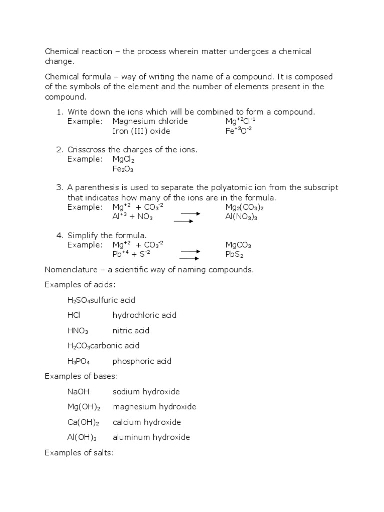 Finals Lesson 2 Hydroxide Chemical Reactions
