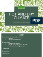 Hot and Dry Climate - Final