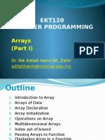 EKT120 Lecture07 - Arrays PartI.pptx