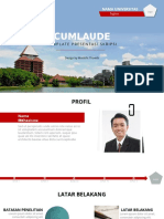 5. Cumlaude Red Theme Widescreen