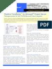 Pipeline Software SAP MSP Integration