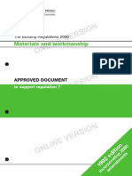 Materials and Workmanship