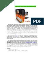 Tips Mempercepat Koneksi Mozila Firefox