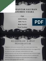 Penghantar Saluran Transmisi Udara PDF