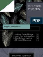 Isolator Jaringan Tenaga Listrik PDF