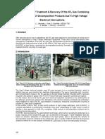 SF6 Gas Handling Gov EPA Regulation