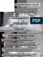 Citizen Lawsuit dalam kapsel haper
