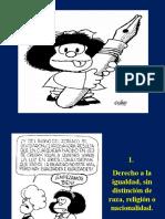 Ddhh Del Nino Mafalda