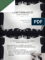 Performance Diana Taylor