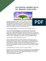 Preguntas Para Intentar Entender Qué Es El Inconsciente Alejandro Jodorowsky