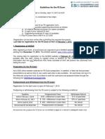Guidelines FE APRIL 2013