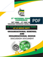 National Policy Conference 2017 Organisational Renewal