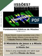 02 - Fundamentos Bíblicos de Missões Urbanas