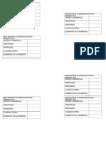 Parámetros Para La Expresión Escrita