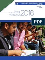 Student HandBook 2016