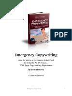 Emergency Copywriting