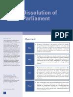 Dissolution of Parliament Final