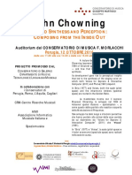 12 Ottobre 11-18 John Cowning