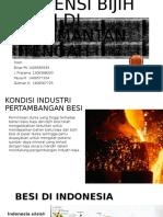 PPBB-PPt. Potensi Bijih Besi Di Kalimantan Tengah