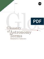 Galaxy Glossary