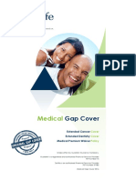 Zestlife Medical Gap Cover Brochure 2016