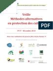 Veille Méthodes alternatives en protection des cultures