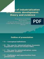 The Role of Industrialization in Economic Development