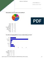 Chatbot Survey - Moduli Google