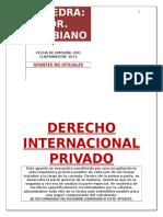 Resumen Internacional Privado