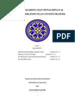 Lembaga Kliring dan Penjamin & Lembaga Perlindungan Investor Efek.doc